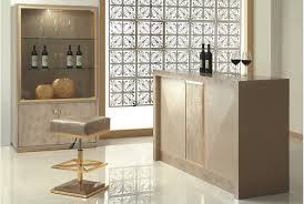 transitional wine bar design with a barstool and a simple bar table a large closet organizer bar room furniture home