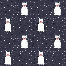 printable christmas cat scrapbooking paper ausdruckbares digital snow and cat scrapbooking paper