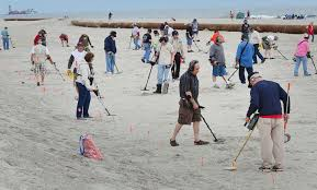 Image result for Metal detectors on the beach