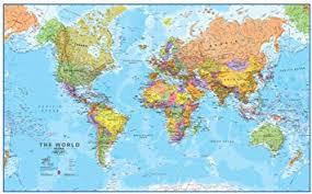 Maps International - Giant World Map - Mega-Map Of ... - Amazon.com