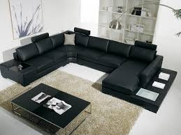 black couches living room ideas glamorous furniture black leather living room