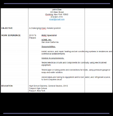 sample air conditioning installer servicer helper window unit resume  template Brefash