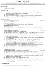 cover letter administrative assistant example resume example cover letter chronological resume sample administrative assistant chronological csusanadministrative assistant example resume large size