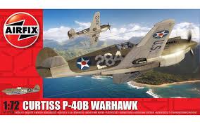Сборная модель <b>американский истребитель Curtiss</b> P-40B ...