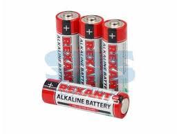 Алкалиновая <b>батарейка AA</b>/LR6 1,5 V 4 шт. блистер REXANT ...