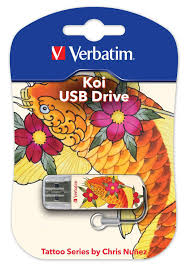 Купить <b>Флешка USB VERBATIM</b> Store n Go Mini Tattoo Koi 16Гб ...