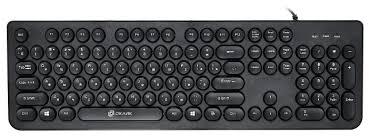 <b>Клавиатура OKLICK 400MR</b> Black USB — купить по выгодной ...