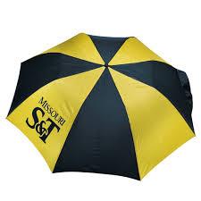 Missouri S&T Green & Gold Automatic Umbrella - The S&T Store