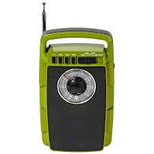 <b>Радиоприемник MAX MR-322 Green</b> – Репродуктор Аудио