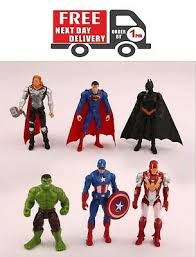 <b>6pc Avengers</b> Figures <b>Super</b> Hero Incredible Action Figures Toy Doll ...