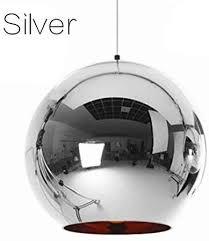 <b>Modern LED</b> Plating <b>Ball Pendant</b> Handing Lamp Light Luster Glass ...
