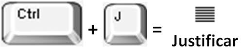 Ctrl + J  = للحصول على محاذاة إلى اليمين .