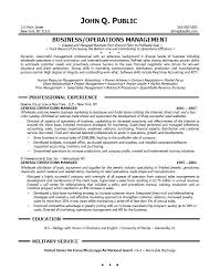 business management resume sample operations management    operations manager resume objective examples sample resume for manager operations sample operations john