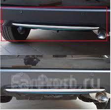 <b>Накладка на низ</b> заднего <b>бампера</b> Honda Vezel 2013 ...