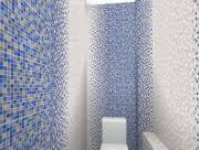 <b>Керамическая плитка Керамин Гламур</b> 2Т голубой настенная 00 ...