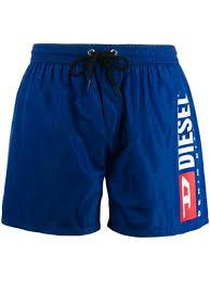 <b>Diesel плавки</b>-шорты с Логотипом - Farfetch