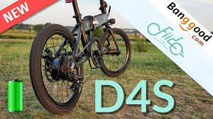 <b>FIIDO D4s Folding</b> Moped Bicycle REVIEW & TEST - YouTube
