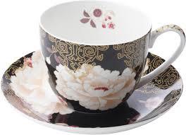 "<b>Чайная пара Maxwell &</b> Williams ""Кимоно"", цвет: черный, 480 мл ..."