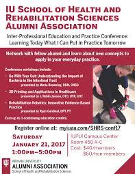 alumni events alumni donors school of health rehabilitation 2016