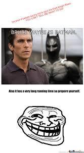 Spoiler For The Dark Knight Rises by dijahdaze - Meme Center via Relatably.com