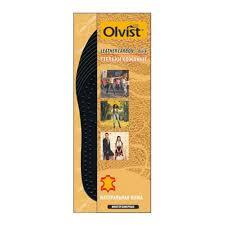 стельки OLVIST Leather Carbon всесезонные кожа безразм - Чижик