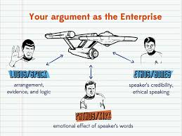tweak your speech rhetoric and star trek logos my mom and student ethos pathos and logos bones ethos or the credibility appeal rhetoric persuasivewriting rhetoricvisual