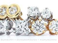 62 <b>Simple diamond studs</b> ideas | <b>simple</b> diamonds, <b>earring</b> stand ...