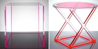 acrylic side tables acrylic furniture lucite