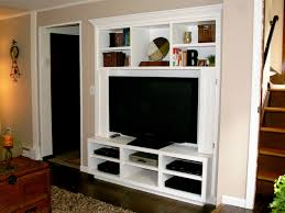 marvelous small e media console tv near stair featuring six romantic living room built furniture living room