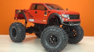 Тест-драйв HPI Crawler King (Ford F-150 SVT Raptor) ... против ...