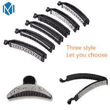 M MISM Hot Selling <b>Fashion Shiny Rhinestone</b> Hair Pins Women ...