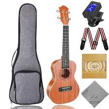 Ranch <b>Concert Ukulele</b> UK-<b>23</b> Beginner Kits