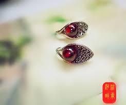 Thailand <b>S925 pure silver jewelry</b> production manual eardrop Thai ...