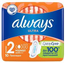 <b>Always прокладки</b> Ultra <b>Normal</b> Plus — купить по выгодной цене ...