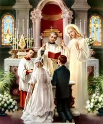 Resultado de imagen para imagen sacramento matrimonio catolico
