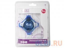 Концентратор <b>USB</b> 2.0 <b>CBR CH-127</b> — купить по лучшей цене в ...