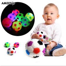 AMEESI LED <b>Bouncing</b> Hedgehog Soccor Ball <b>Football</b> Squeeze ...
