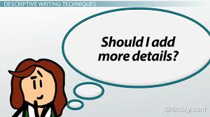 descriptive writing definition techniques examples video descriptive writing definition techniques examples video lesson transcript com