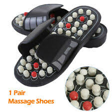 acupuncture foot massage slippers health shoe reflexology magnetic sandals massager magnet shoes healthy feet care
