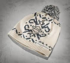 Bundle up in our warm Fair Isle <b>Pom</b> Hat. The custom pattern on this ...