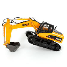 <b>1:14</b> Excavator RC Model Tractor Bulldozer Crawler Truck Toy ...
