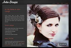 web design ii  online identity  amp  design portfolio websites      html resumes      donga