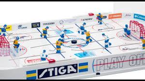 <b>Настольный хоккей</b> STIGA PLAY OFF - YouTube
