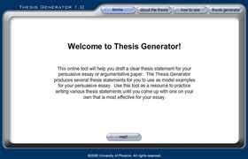 argumentative essay thesis statement generator thesis statement generator informative essay