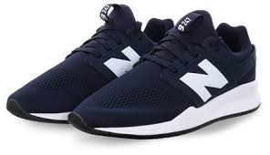 New Balance Navy <b>247 Classic</b> Lace Up Trainer | | Shop the latest ...
