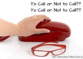 Calling after an Interview: Follow Up Phone Call after an Interview