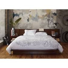 andes walnut bed in all furniture cb2 bedroom furniture cb2