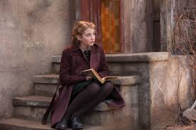 sophie nelisse talks carrying the book thief and pelting the sophie nelisse talks carrying the book thief and pelting the camera snowballs