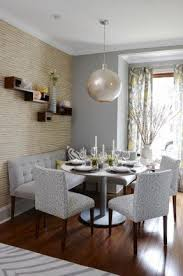 room buy breakfast nook set: how to go gray when your entire house is beige