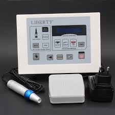 best liberty electric digital permanent makeup machine kit professional with libetry pens power